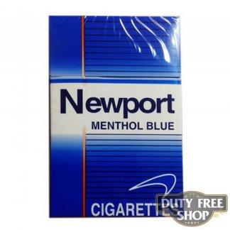 Пачка сигарет Newport Menthol Blue USA