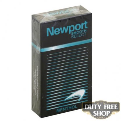Пачка сигарет Newport Menthol Smooth Select 100's USA