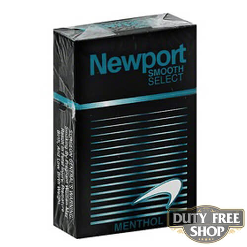 Пачка сигарет Newport Menthol Smooth Select USA