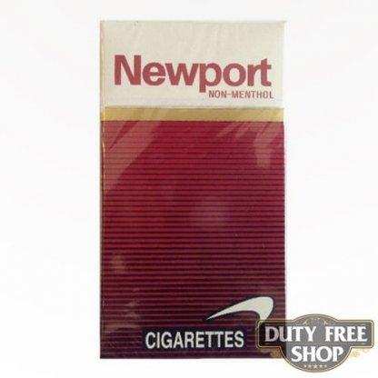 Пачка сигарет Newport Non-Menthol Red 100's USA