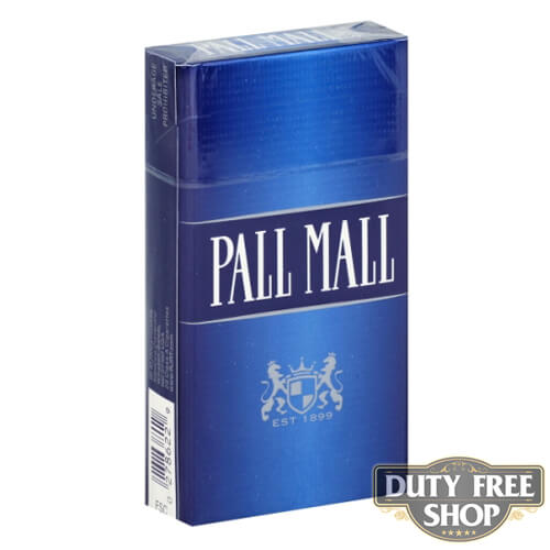 Пачка сигарет Pall Mall Blue 100's USA