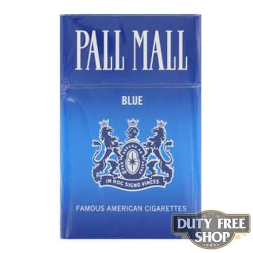 Пачка сигарет Pall Mall Blue USA