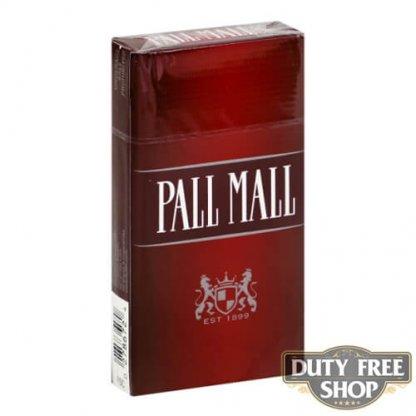 Пачка сигарет Pall Mall Red 100's USA