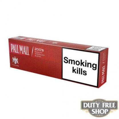 Блок сигарет Pall Mall Red Duty Free