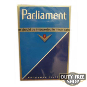 Пачка сигарет Parliament USA