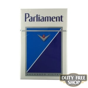 Пачка сигарет Parliament Lights USA (DUTY FREE)