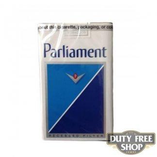 Пачка сигарет Parliament Lights Soft USA