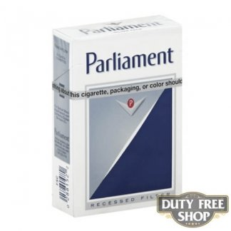 Пачка сигарет Parliament Silver USA
