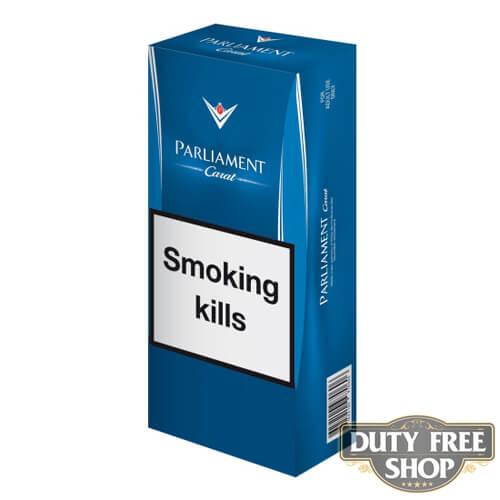 Блок сигарет Parliament Carrat Duty Free