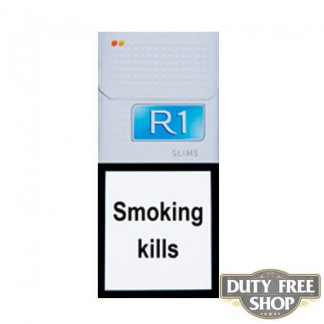 Пачка сигарет R1 Slims Duty Free