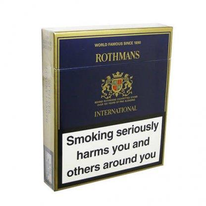 Пачка сигарет Rothmans International (1 пачка) Duty Free