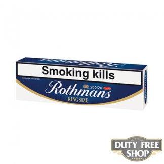 Блок сигарет Rothmans King Size Duty Free