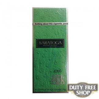 Пачка сигарет Saratoga Menthol 120s USA