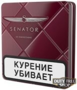 Пачка сигарет Senator Original Tobacco Blend Metal (Original Pipe) - старый дизайн
