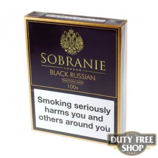 Пачка сигарет Sobranie Black Russian 100's (1 пачка) Duty Free