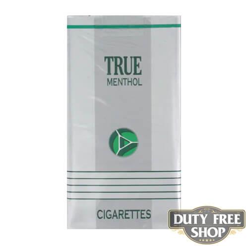 Пачка сигарет True Menthol 100's Soft USA