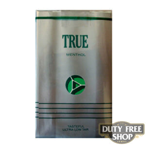 Пачка сигарет True Menthol Soft USA