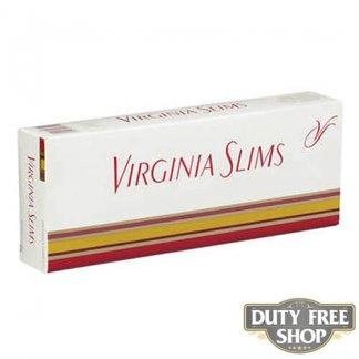 Блок сигарет Virginia Slims 100's Soft USA
