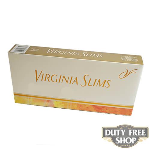 Блок сигарет Virginia Slims Gold 120's USA