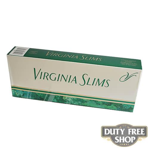 Блок сигарет Virginia Slims Menthol 100's USA