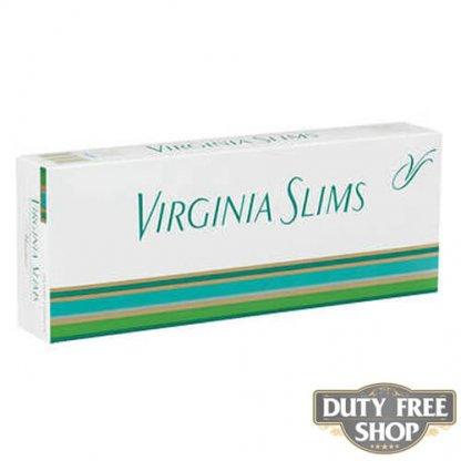 Блок сигарет Virginia Slims Menthol 100's Soft USA