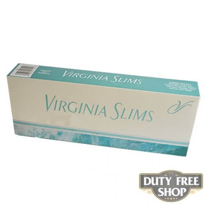 Блок сигарет Virginia Slims Menthol Silver 100's USA