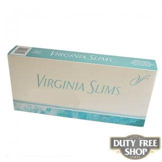 Блок сигарет Virginia Slims Menthol Silver 120's USA