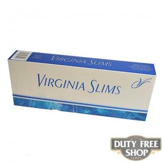 Блок сигарет Virginia Slims Silver 100's USA