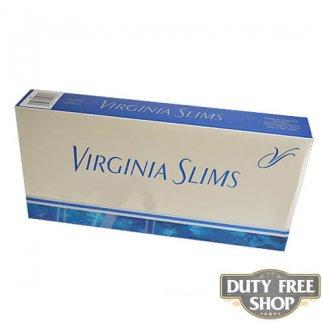 Блок сигарет Virginia Slims Silver 120's USA
