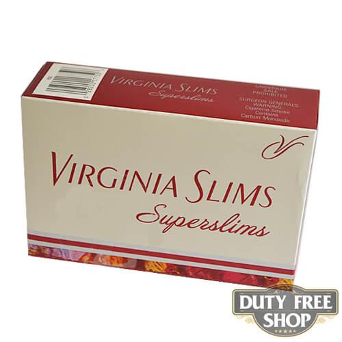 Блок сигарет Virginia Slims Superslims 100's USA