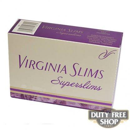 Блок сигарет Virginia Slims Superslims Gold 100's USA