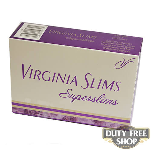 Блок сигарет Virginia Slims Superslims Gold 100's USA