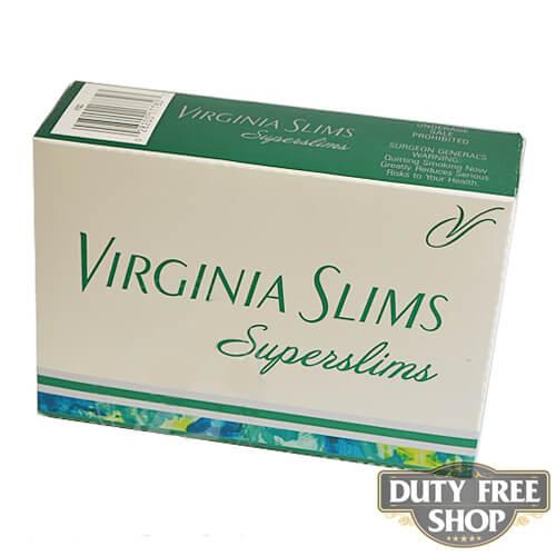 Блок сигарет Virginia Slims Superslims Menthol 100's USA