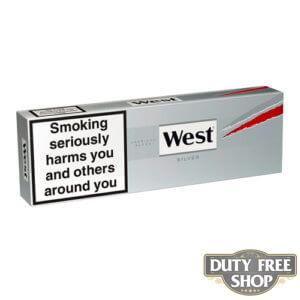 Блок сигарет West Silver Duty Free