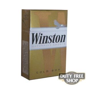 Пачка сигарет Winston Gold USA