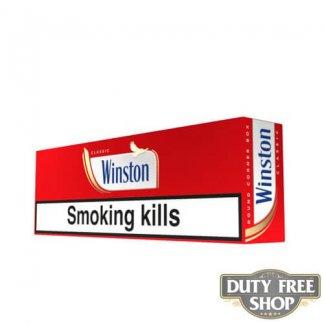 Блок сигарет Winston Red (Classic) Duty Free