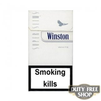 Пачка сигарет Winston SuperSlims White Duty Free