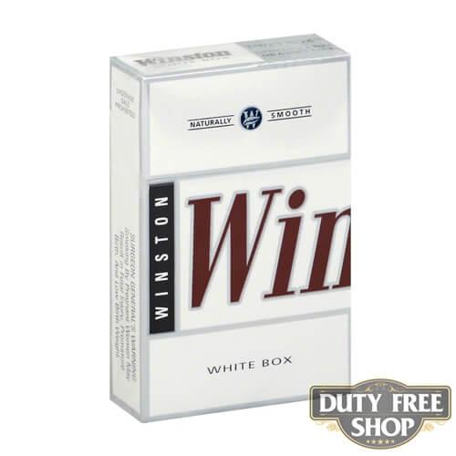 Пачка сигарет Winston White USA