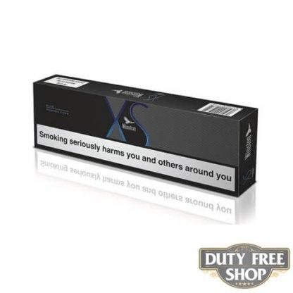 Блок сигарет Winston XS Blue Duty Free