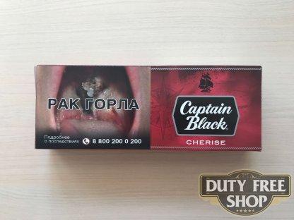 Живое фото блока сигарилл Captain Black Cherise RUS
