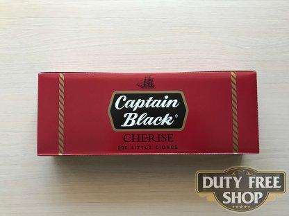 Живое фото блока сигарилл Captain Black Cherise USA (1 пачка)