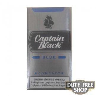 Пачка сигарилл Captain Black Blue Compact RUS Duty Free