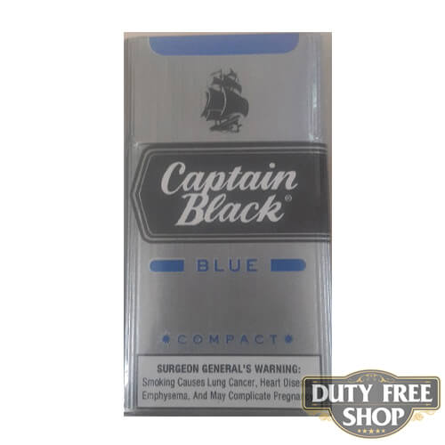Пачка сигарилл Captain Black Blue Compact RUS Duty Free