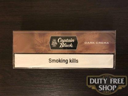 Живое фото блока сигарилл Captain Black Dark Crema USA - новый дизайн