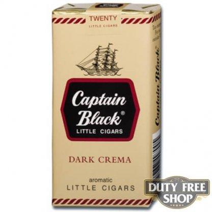 Пачка сигарилл Captain Black Dark Crema USA - старый дизайн