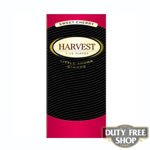 Пачка сигарилл Harvest Cherry Duty Free
