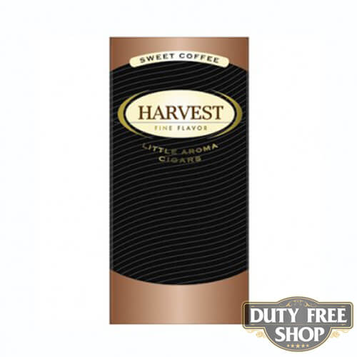 Пачка сигарилл Harvest Coffee Duty Free