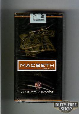 Пачка сигарилл Macbeth Chocolate