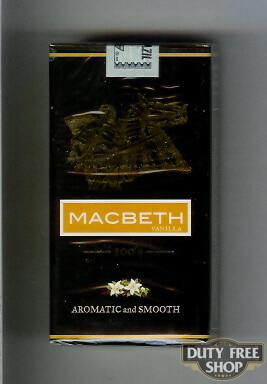 Пачка сигарилл Macbeth Vanilla