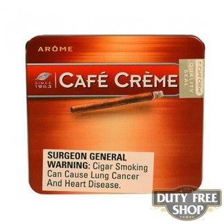 Пачка сигарилл Cafe Creme Arome 10 cigars Duty Free